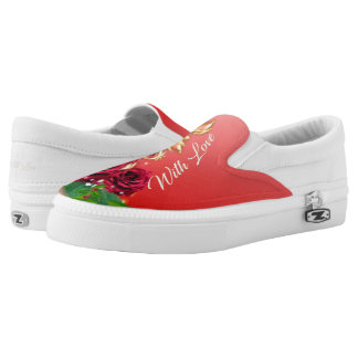 Valentine's Day Shoes Printed Shoes