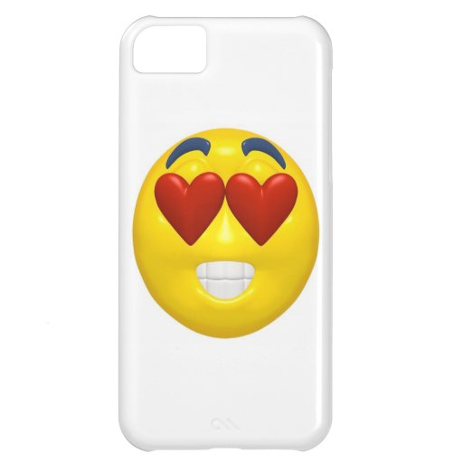 Valentine's Day Smiley Cover For iPhone 5C