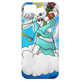 Valentine's Day Snow White Cupid Cat Barely There iPhone 5 Case