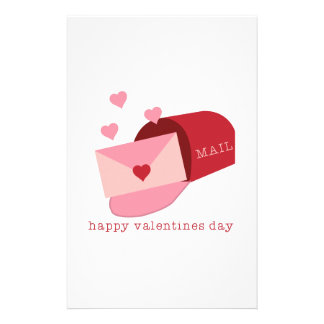 Valentines Day Personalized Stationery