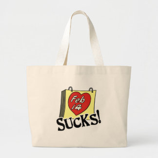 Valentine's Day Sucks Tote Bag