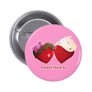 Valentine's Day Sweet Hearts Pins