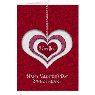 VALENTINE'S DAY - SWEETHEART -ALWAYS HAVE MY HEART CARD