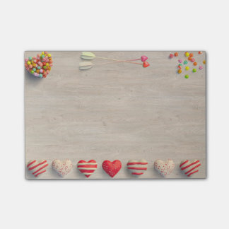Valentines Day Treats Post It Notes