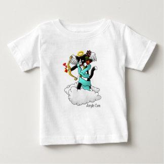 Valentine's Day Tuxedo Cupid Cat Baby T-Shirt