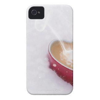Valentine's Day Valentine Love Coffee Heart Mug iPhone 4 Cover