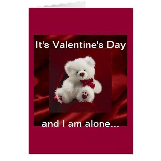 Valentine's Day wish we were together tonight  Car Card