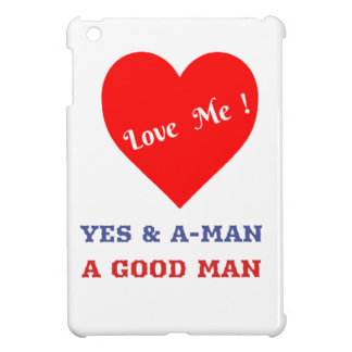 VALENTINES DAY YES AND AMEN  T-SHIRT iPad MINI CASE