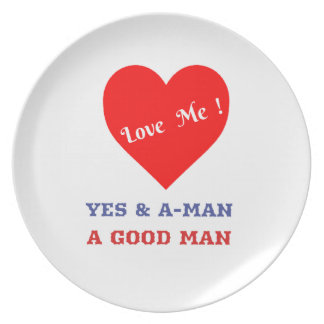 VALENTINES DAY YES AND AMEN  T-SHIRT PLATE