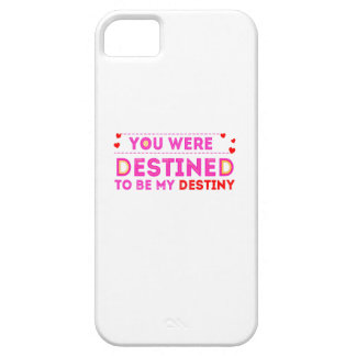 VALENTINES DAY YOU ARE MY DESTINY iPhone 5 CASE