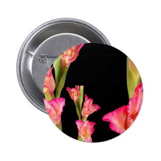 Valentine's Exotic Flower Romance Sensual Gifts 6 Cm Round Badge