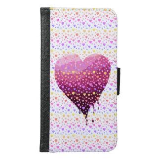 Valentine's Heart Samsung Galaxy S6 Wallet Case