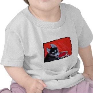 Valentine's Husky dog Shirt