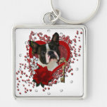 Valentines - Key to My Heart - Boston Terrier
