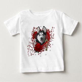 Valentines - Key to My Heart - Siberian Husky Tee Shirts