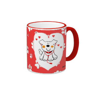 VALENTINES/MOTHERS DAY SPECIAL WOMANS GIFT RINGER COFFEE MUG