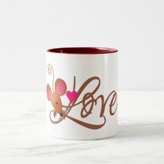 Valentine's Mouse Mug