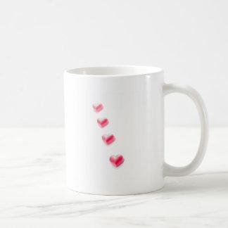 Valentines pink Hearts Mugs