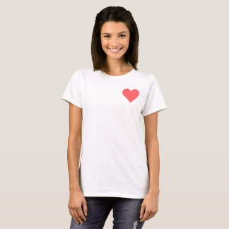 Valentine's Read Heart T-Shirt