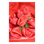 VALENTINES ROSES PERSONALIZED STATIONERY