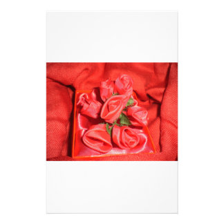 VALENTINES ROSES STATIONERY PAPER