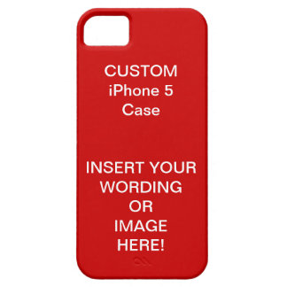 VALENTINE'S SALE - MAKE YOUR OWN iPhone 5 Case