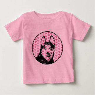 Valentines - Siberian Husky Silhouette Shirts