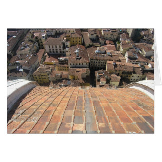 Valentines View from the Duomo Card