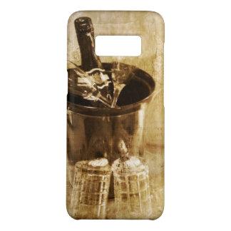 Valentine's wedding anniversary festive Champagne Case-Mate Samsung Galaxy S8 Case