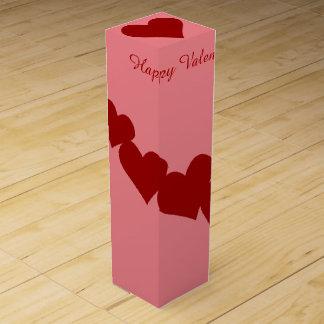 Valentine's Wine Box Customized Valentine Gift Box