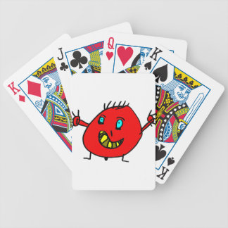 Valérian the nice monster - Axel City Bicycle Playing Cards