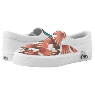 Valerie Riveras Rhodes Abstract Challenge Slip-On Shoes