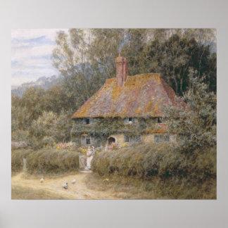 Valewood Farm under Blackwood, Surrey Poster