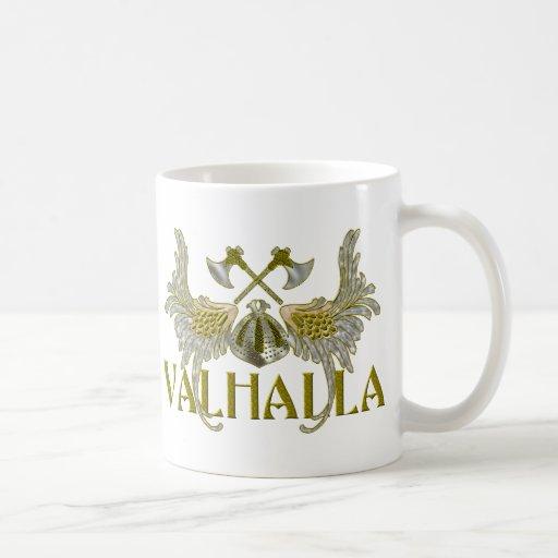 Valhalla Basic White Mug