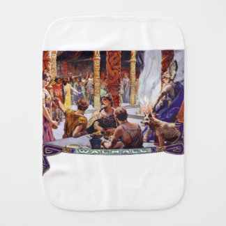 Valhalla Burp Cloth