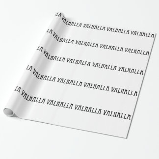 VALHALLA VIKING FUNNY SHIRT '. WRAPPING PAPER