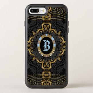 Valkarz Mienetry Elegant Protective Monogram OtterBox Symmetry iPhone 8 Plus/7 Plus Case