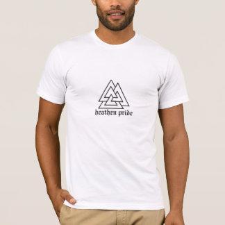 valknot, heathen pride T-Shirt