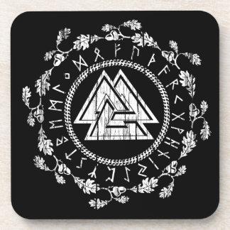 Valknut - Runes Coaster Set of 6