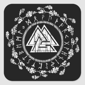 Valknut - Runes Sticker