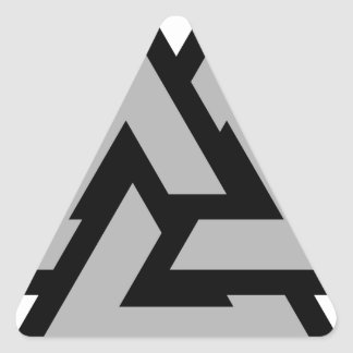 Valknut Triangle Sticker