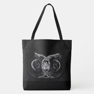 Valknut - Viking's raising Tote Bag
