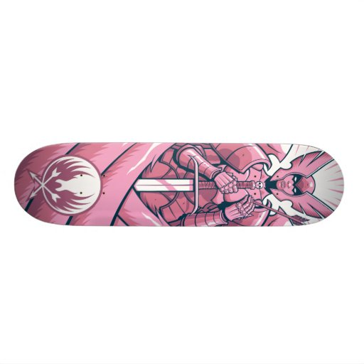 Valkyrie board - pink skate board deck