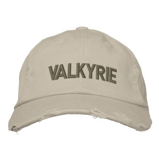 Valkyrie Custom Distressed Baseball Cap