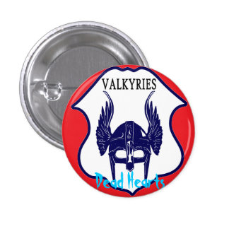 Valkyries - Dead Hearts novels 3 Cm Round Badge