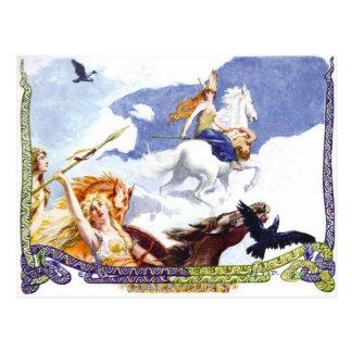 Valkyries Postcard
