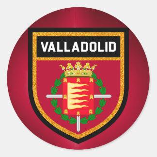 Valladolid Flag Round Sticker