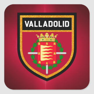 Valladolid Flag Square Sticker