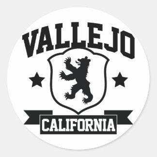 Vallejo Heraldry Classic Round Sticker