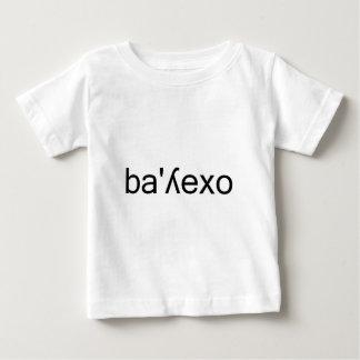 vallejo Typography Spanish phonetic spelling Baby T-Shirt